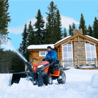 Садовый трактор Husqvarna YTH 220 Twin